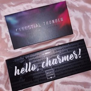 Boxy Charm & Celestial Thunder Eyeshadow Palettes